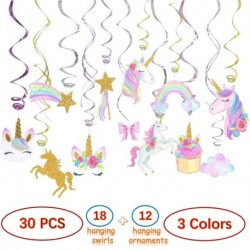 Unicorn Hanging Swirls for Party